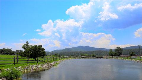 lake at Richfield