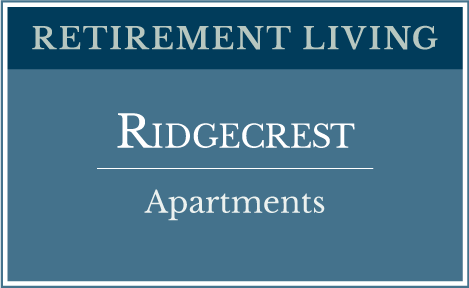 Ridgecrest Senior Living Apartments | Richfield Living